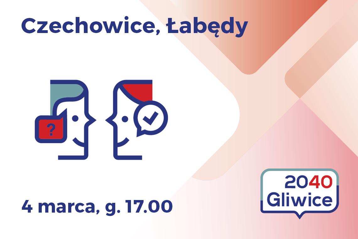 baner dzielnic Czechowice i Łabędy